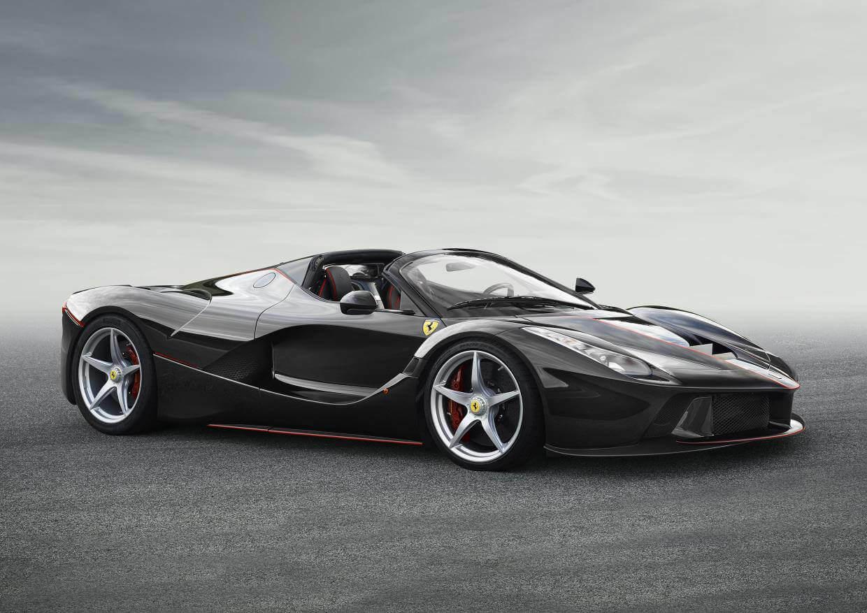 Black Ferrari LaFerrari Aperta