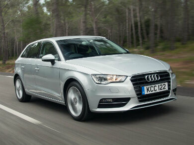 Silver Audi A3