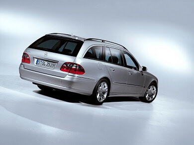 Mercedes E-Class Estate in silver