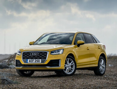 Audi SQ2 Yellow