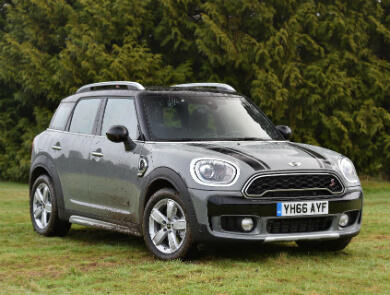 Mini Countryman in grey