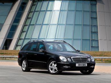 Mercedes E-Class in black