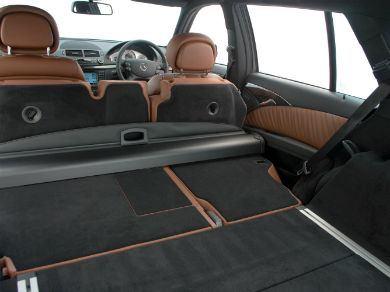 Mercedes E-Class boot