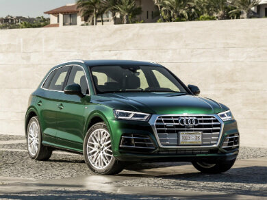 Green Audi Q5