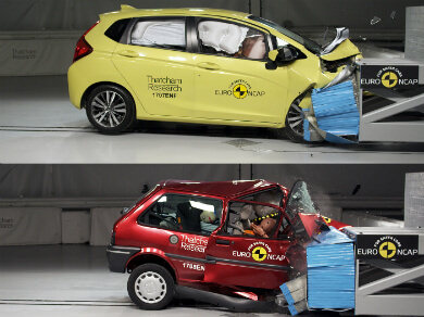 Crash test comparison