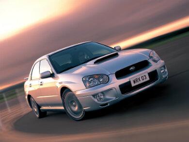 Subaru Impreza in silver