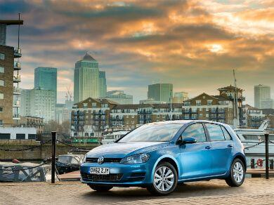 Volkswagen Golf in Blue