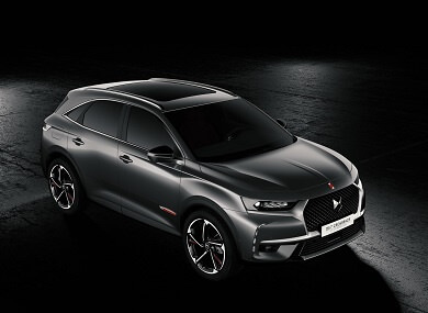 DS7 Crossback SUV in grey