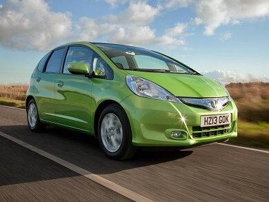 Honda Jazz IMA in green