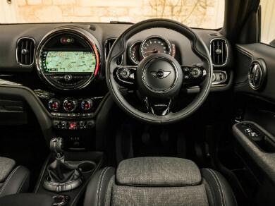 Mini Cooper interior