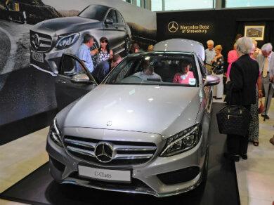Mercedes C Class in silver