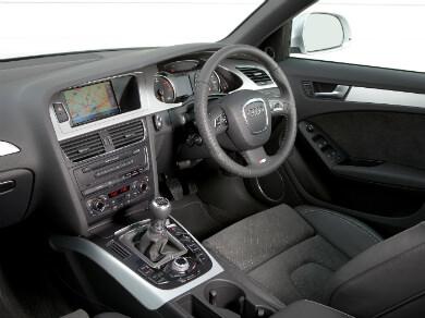 Audi A4 interior