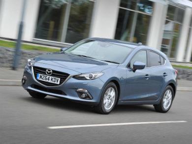 Mazda 3 in blue