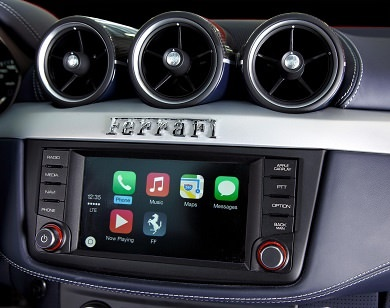 image of apple car play vehicle sound system