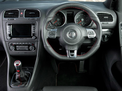VW Golf GTI interior