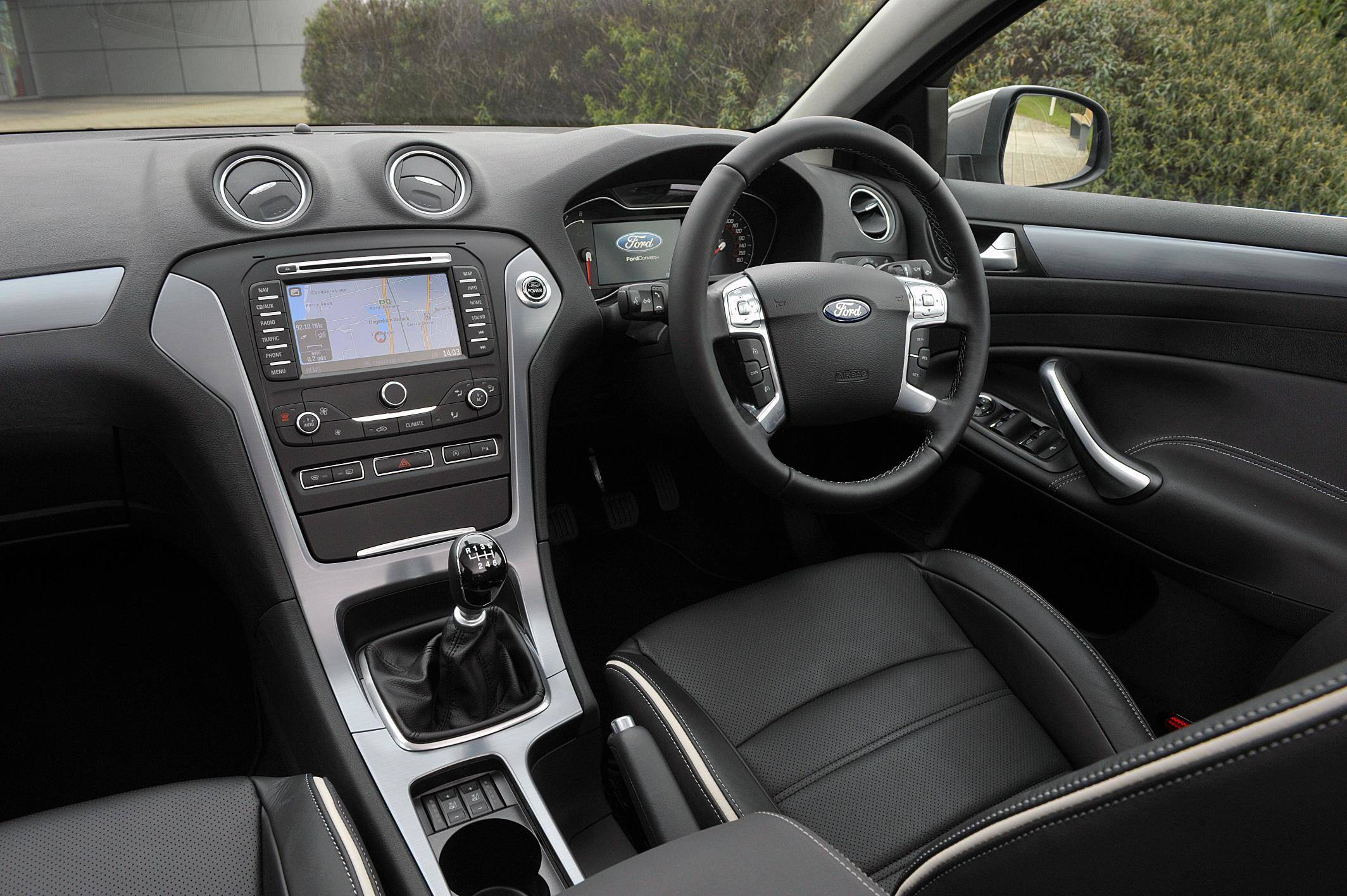 image of a ford mondeo car interior
