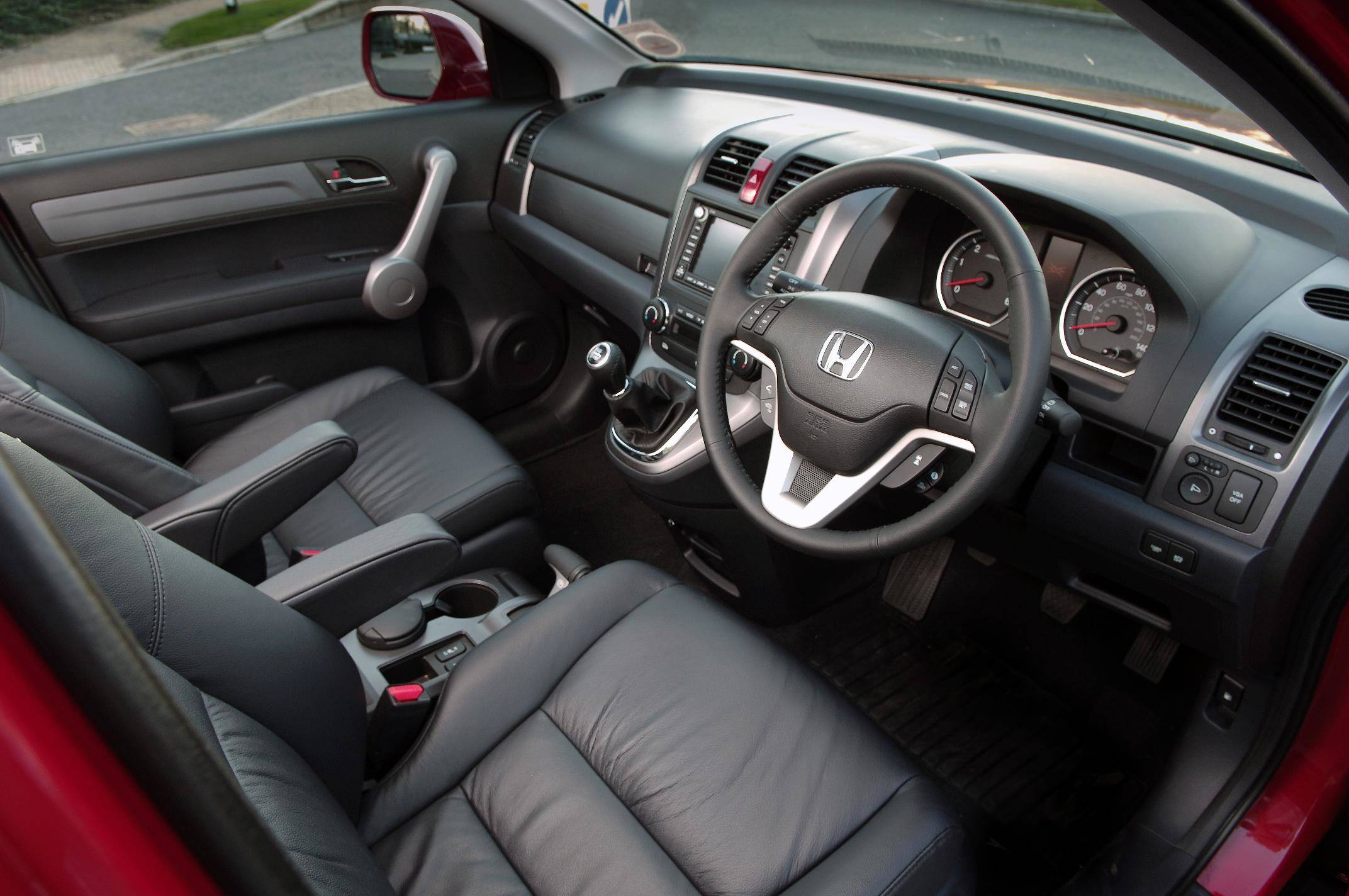 image of a honda cr-v car interior