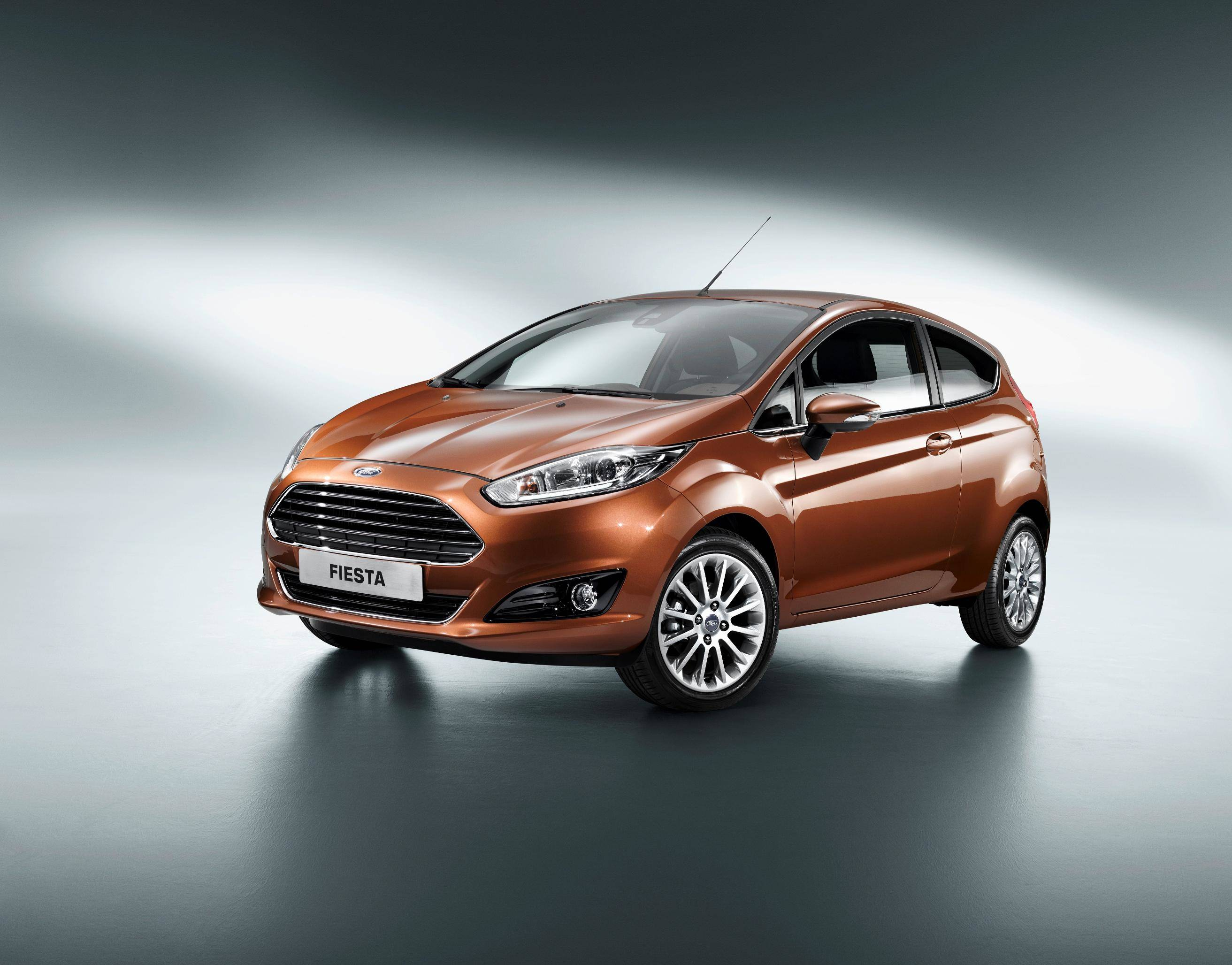 image of a ford fiesta car exterior
