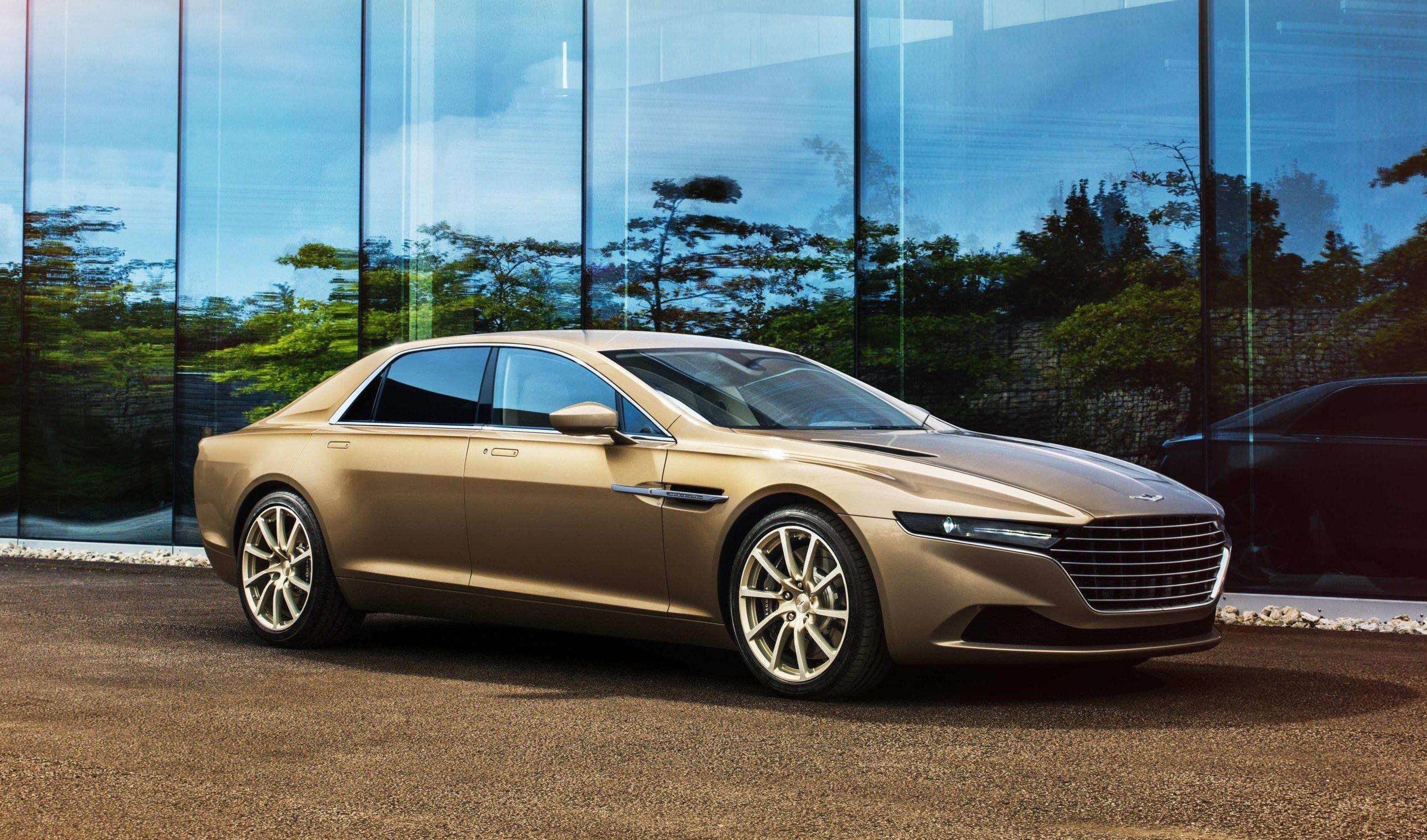 image of a concept aston martin lagonda car exterior