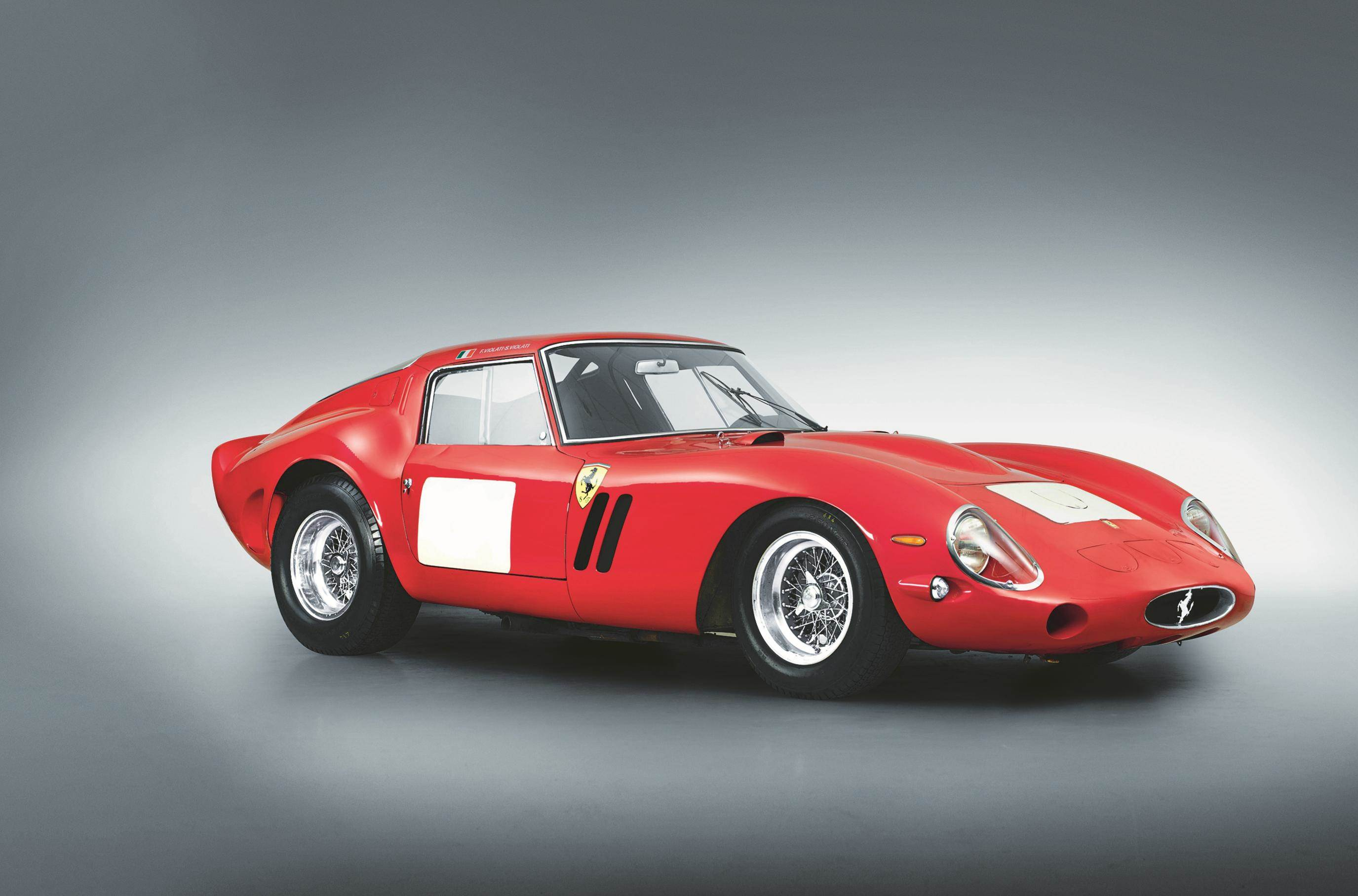 image of a classic red ferrari 250 gto berlintetta car