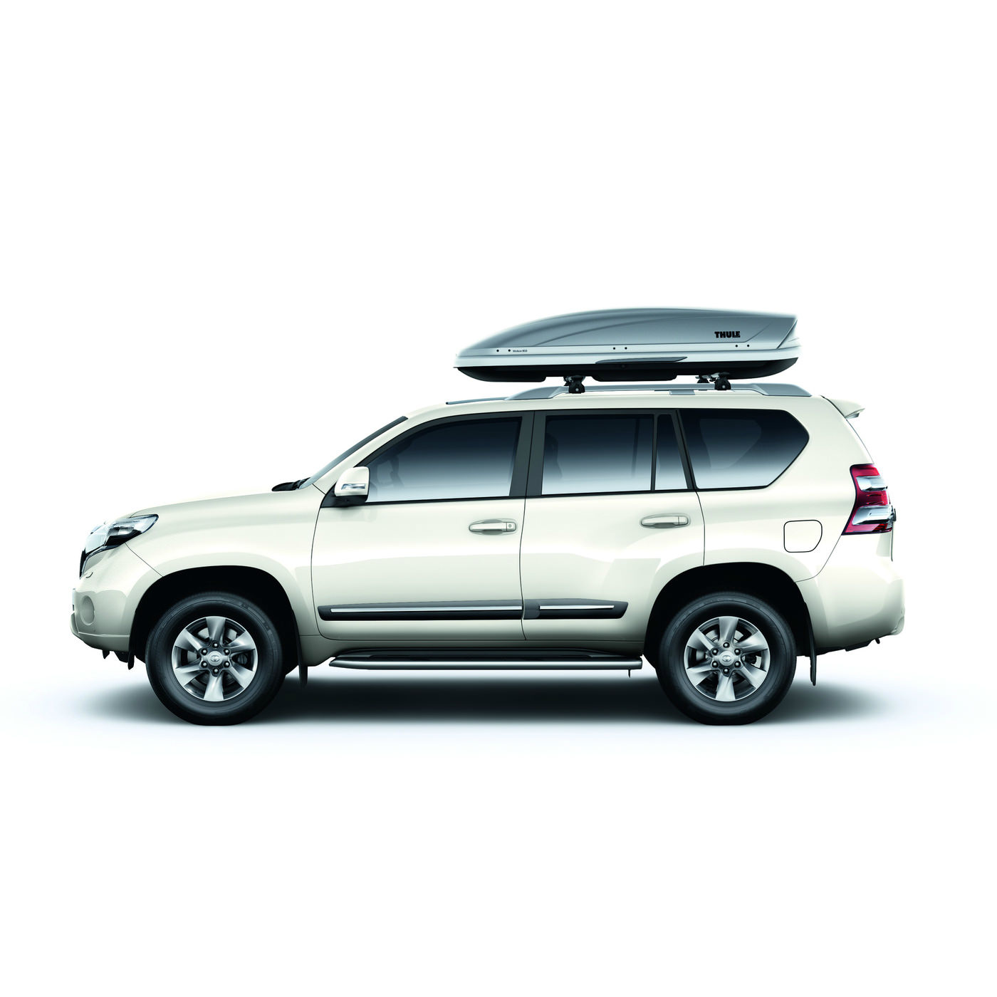 image of a roof rack on a car