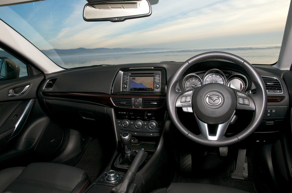 image of a mazda 6 car interior