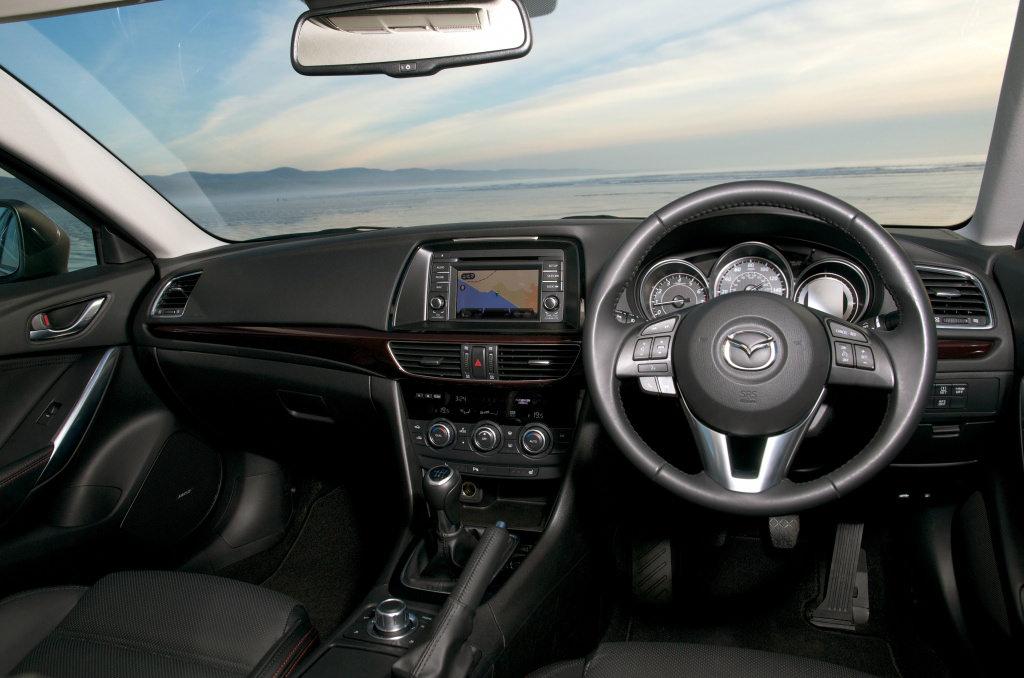 image of a mazda 6 car interior