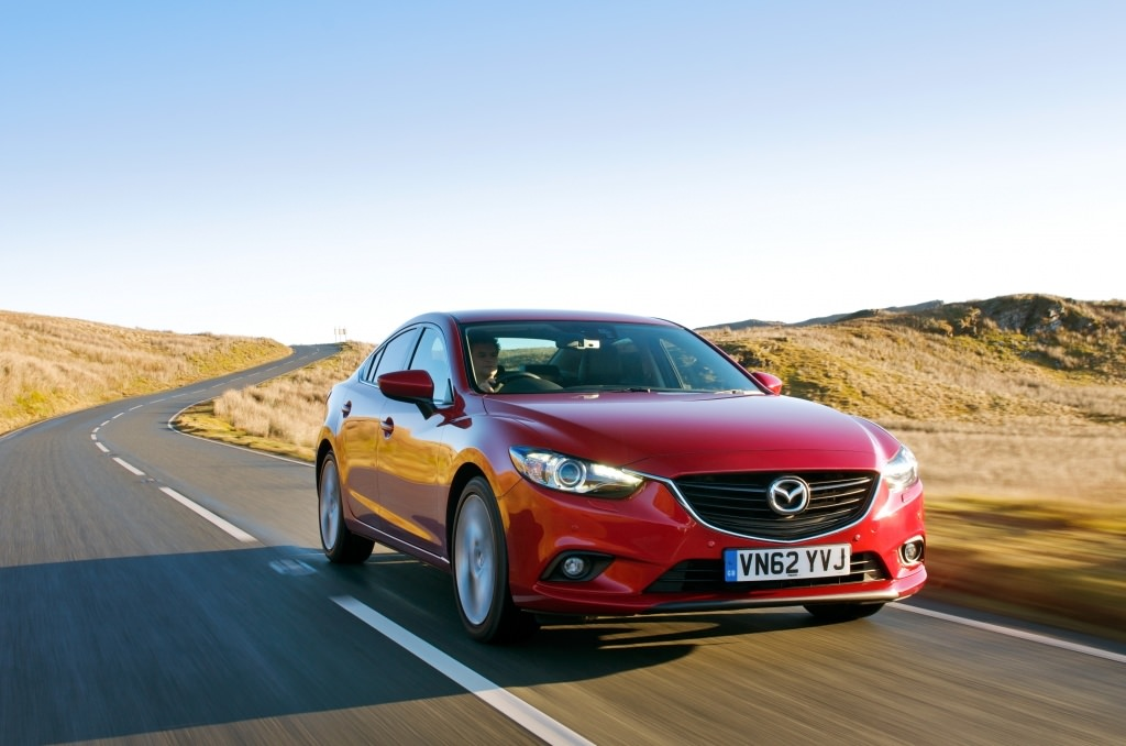 image of a red mazda 6 car exterior