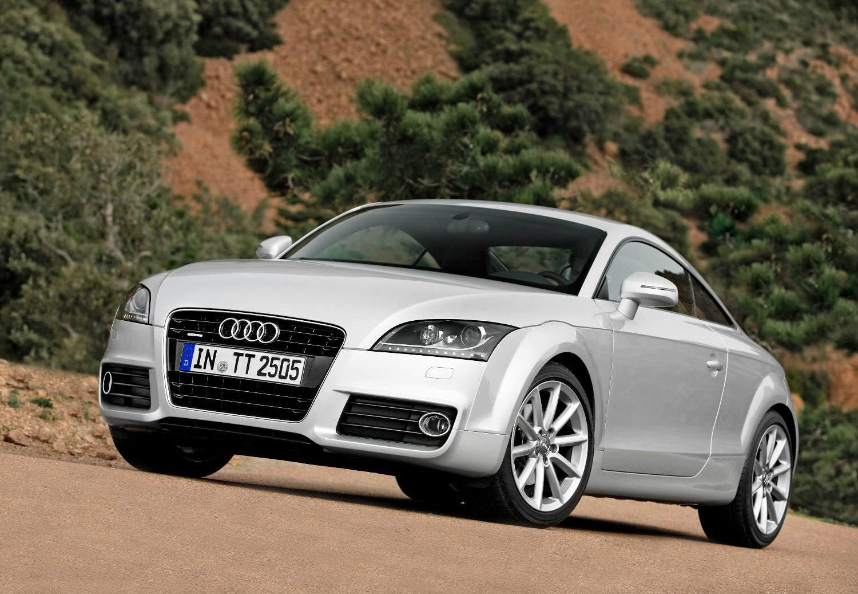 image of silver Audi TT quattro