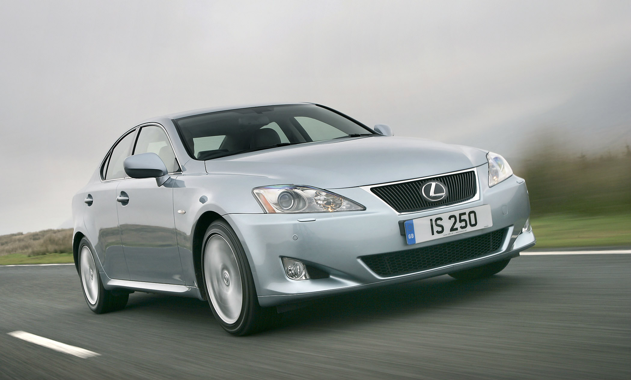 image of a grey lexus is250 car exterior