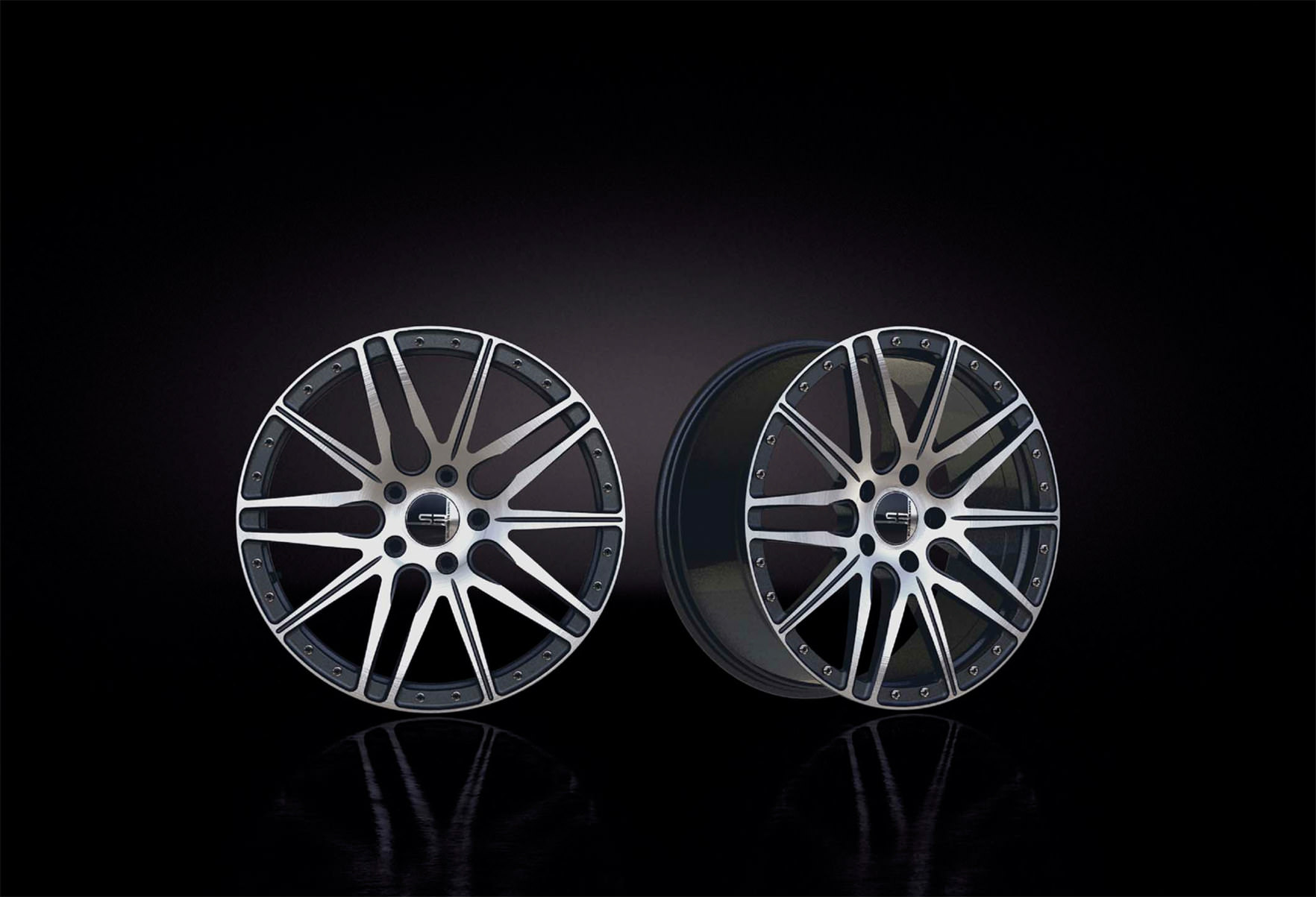 image of a pair of alloy wheels
