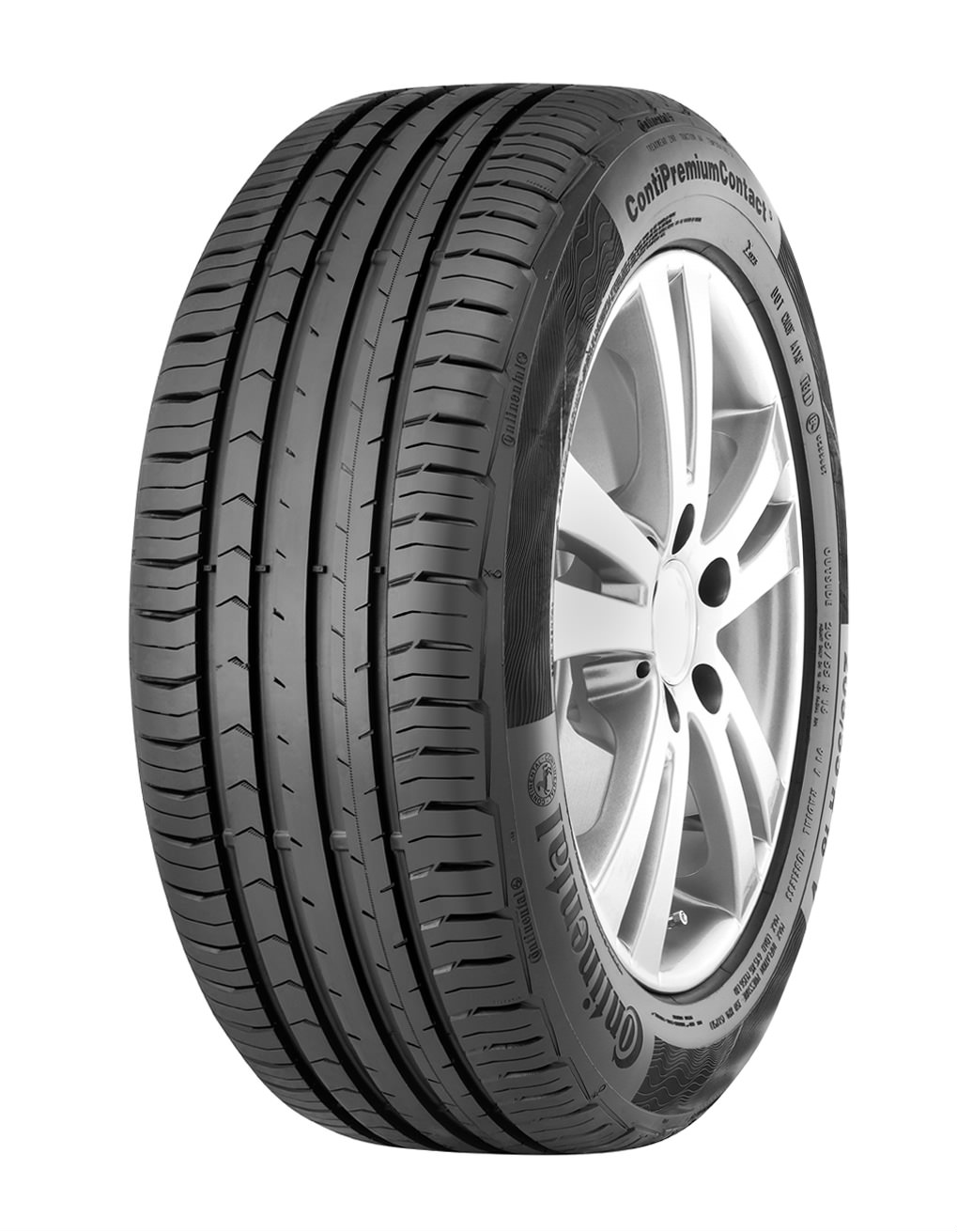 image of a continental car tyre