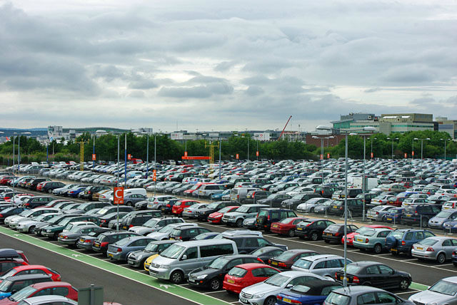 image of lots of cars parked up in a car park