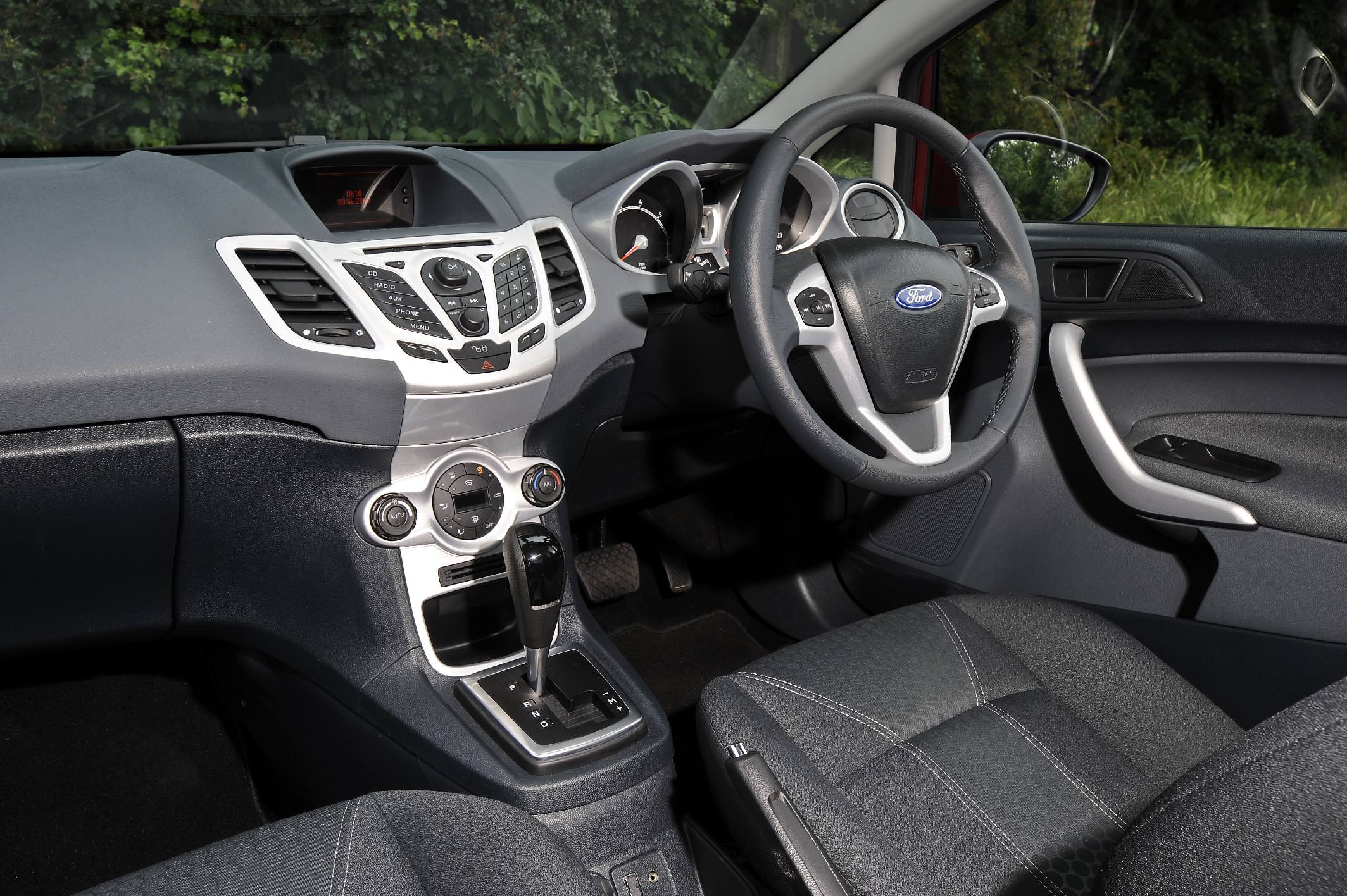 Interior of Used Ford Fiesta