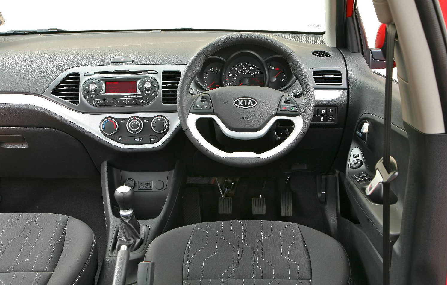 Interior of Used Kia Picanto