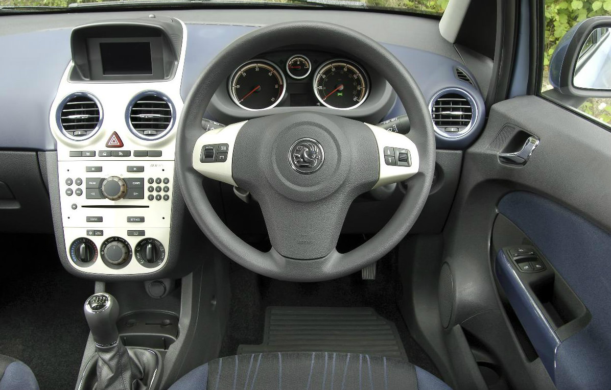 Interior of Used Vauxhall Corsa