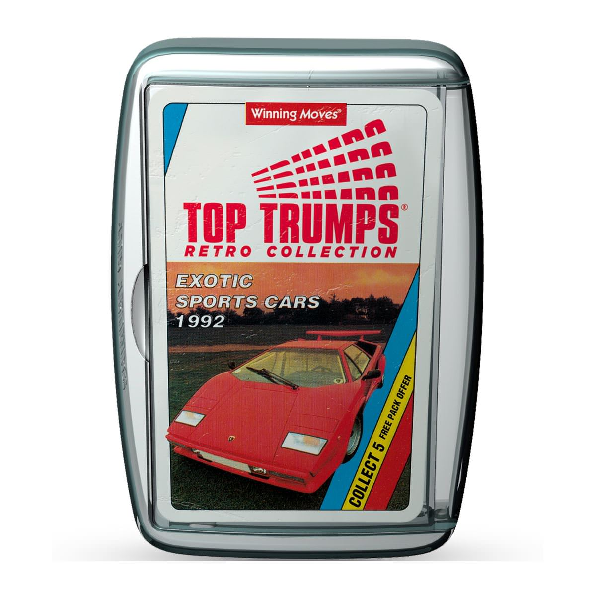 Top Trumps Exotic Sports Cars