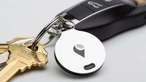 keys and a tracking device