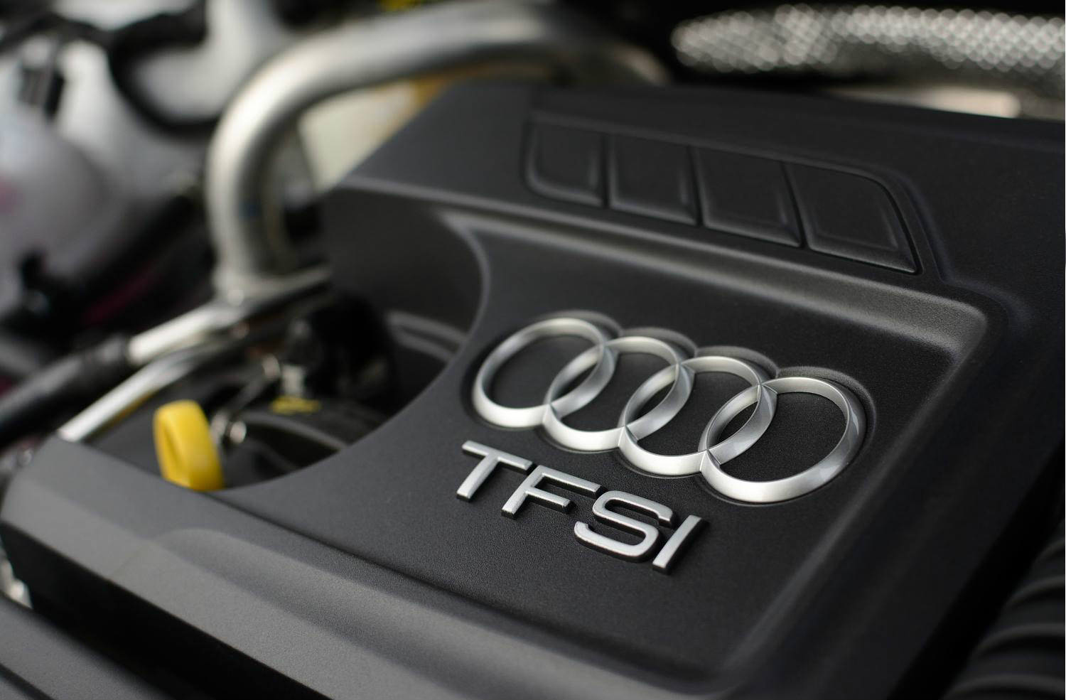 image of an audi tfsi engine