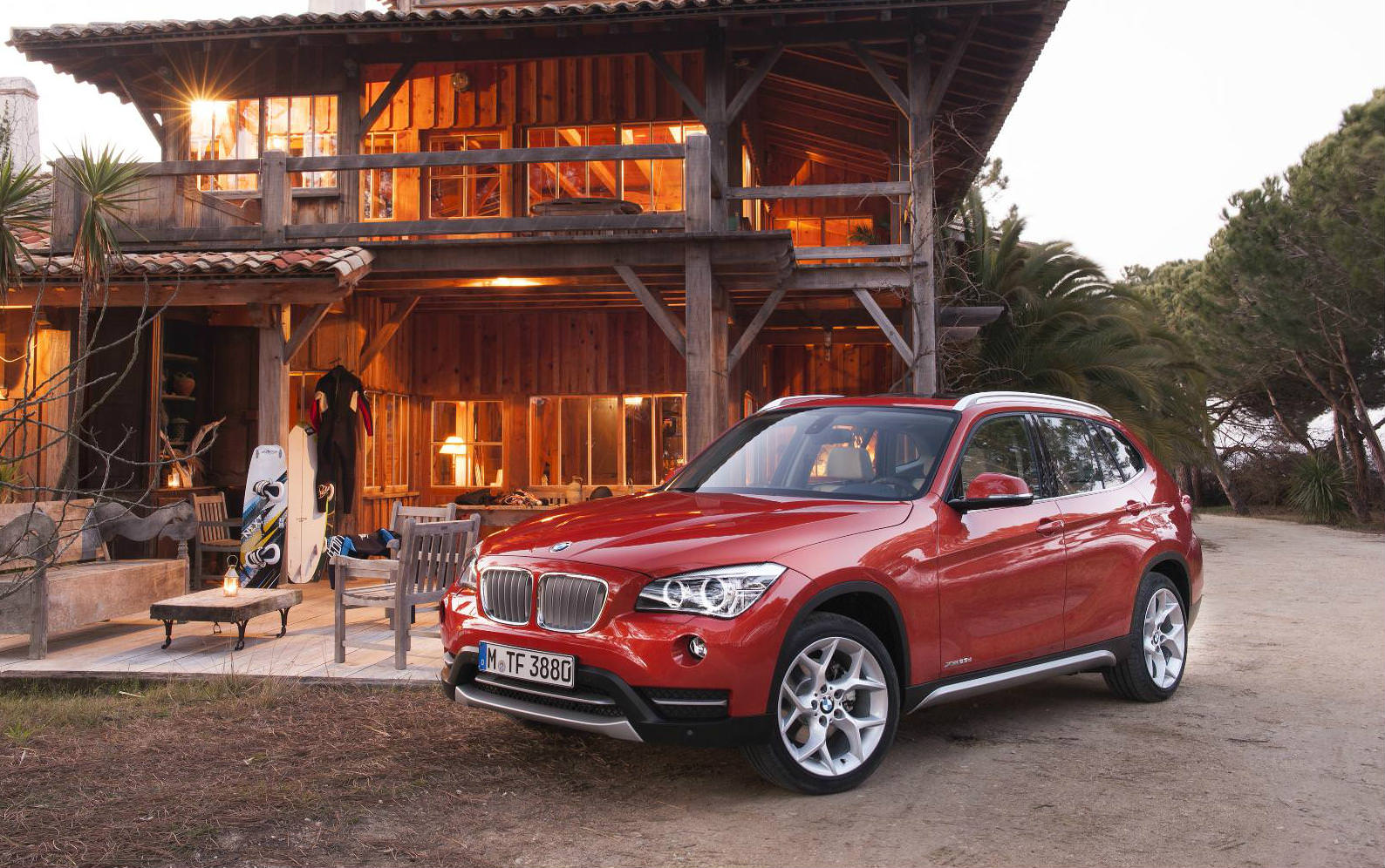Guide to used SUVs with panoramic sunroof - A Red BMW X1