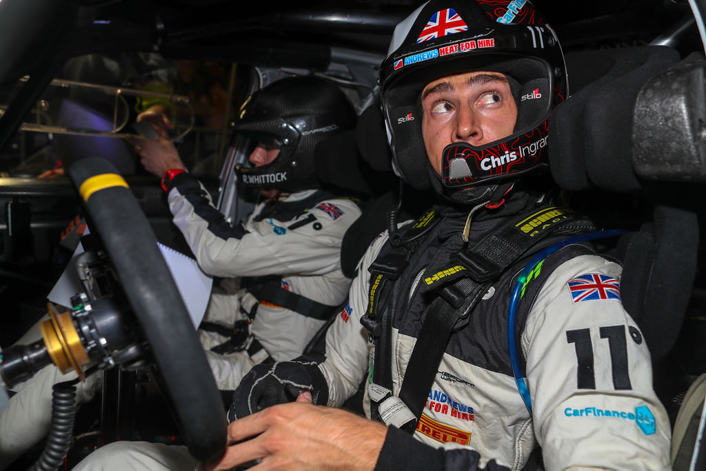 Chris Ingram & Co-driver Ross Whittock prepare for WRC Rally Turkey