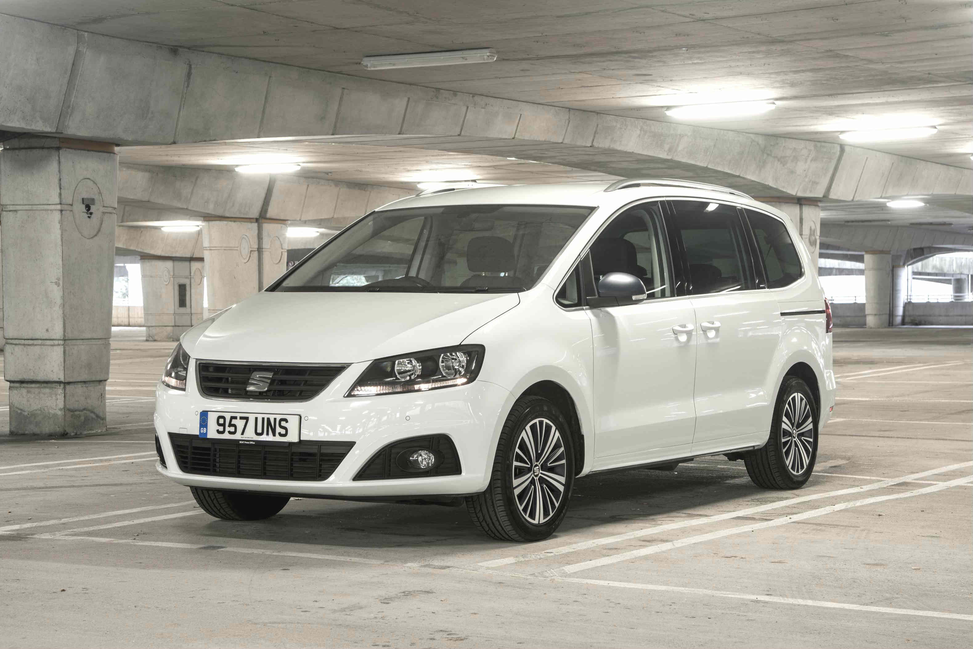 Seat Alhambra is the best large family car with sliding doors