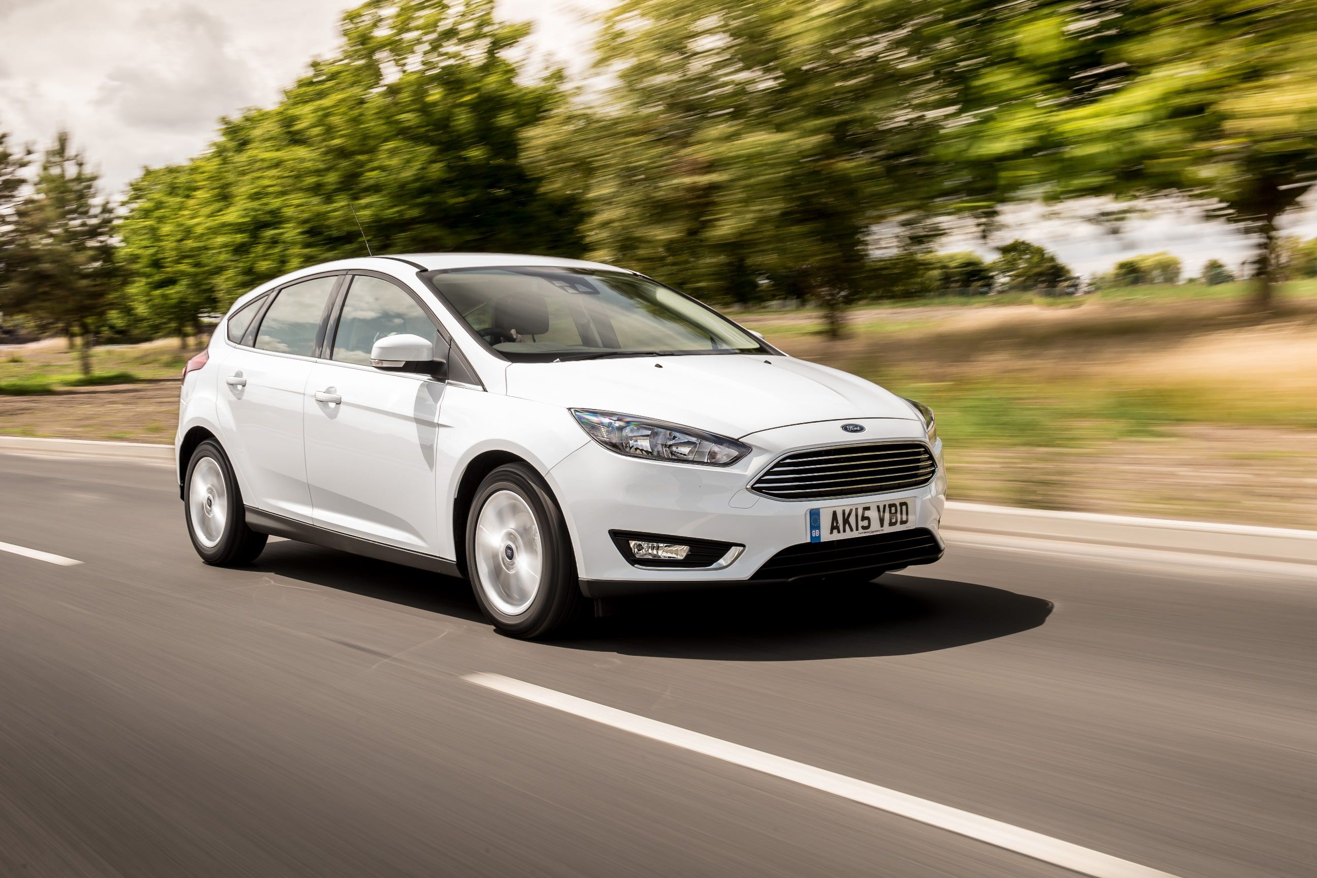Used Ford Focus Buying Guide - White Ford Focus