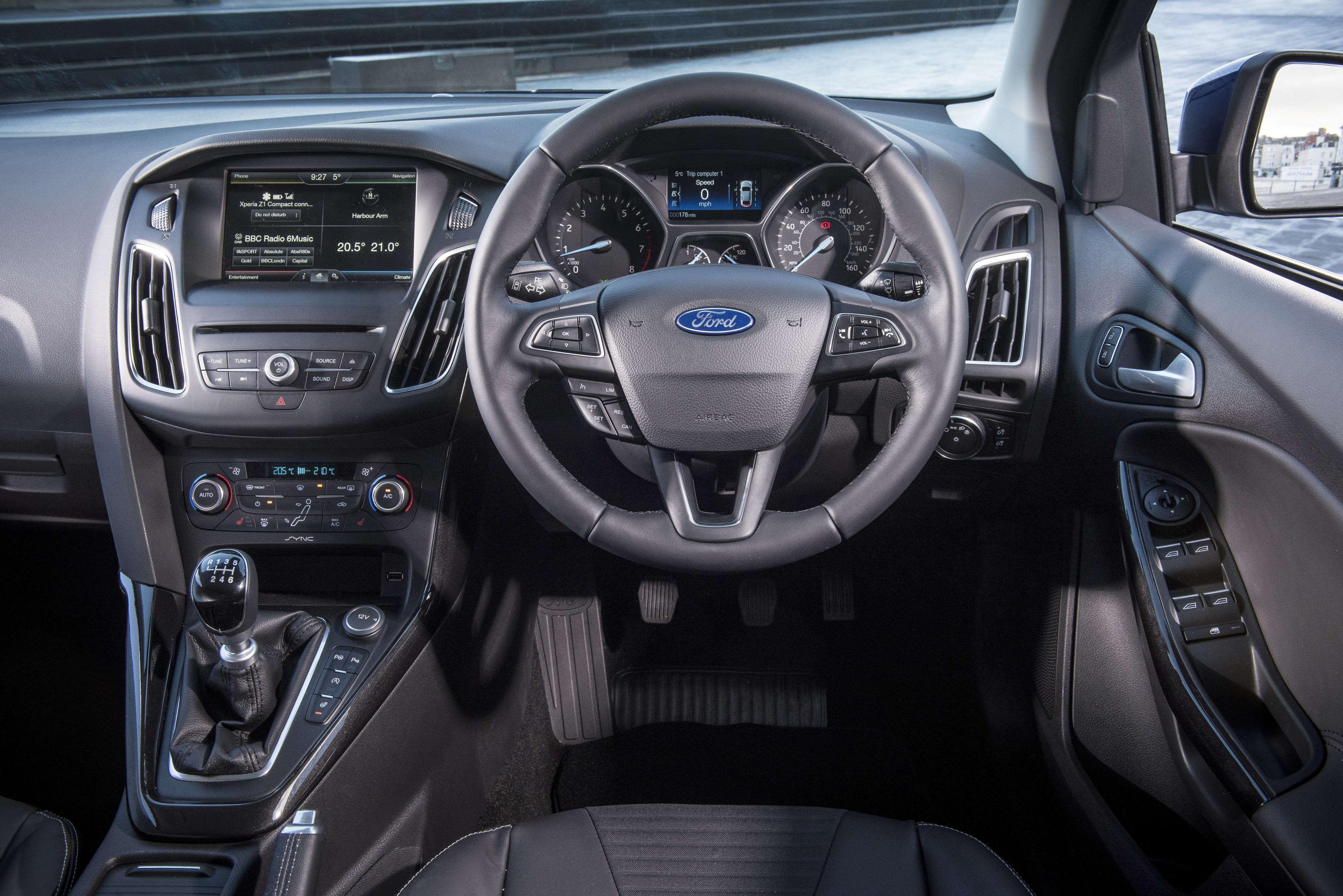 Used Ford Focus buying guide - Interior of a Ford Focus