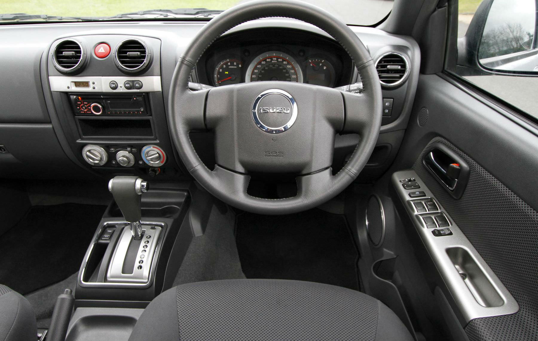 Rodeo drivers seat interior - Pickup Truck Buyers Guide