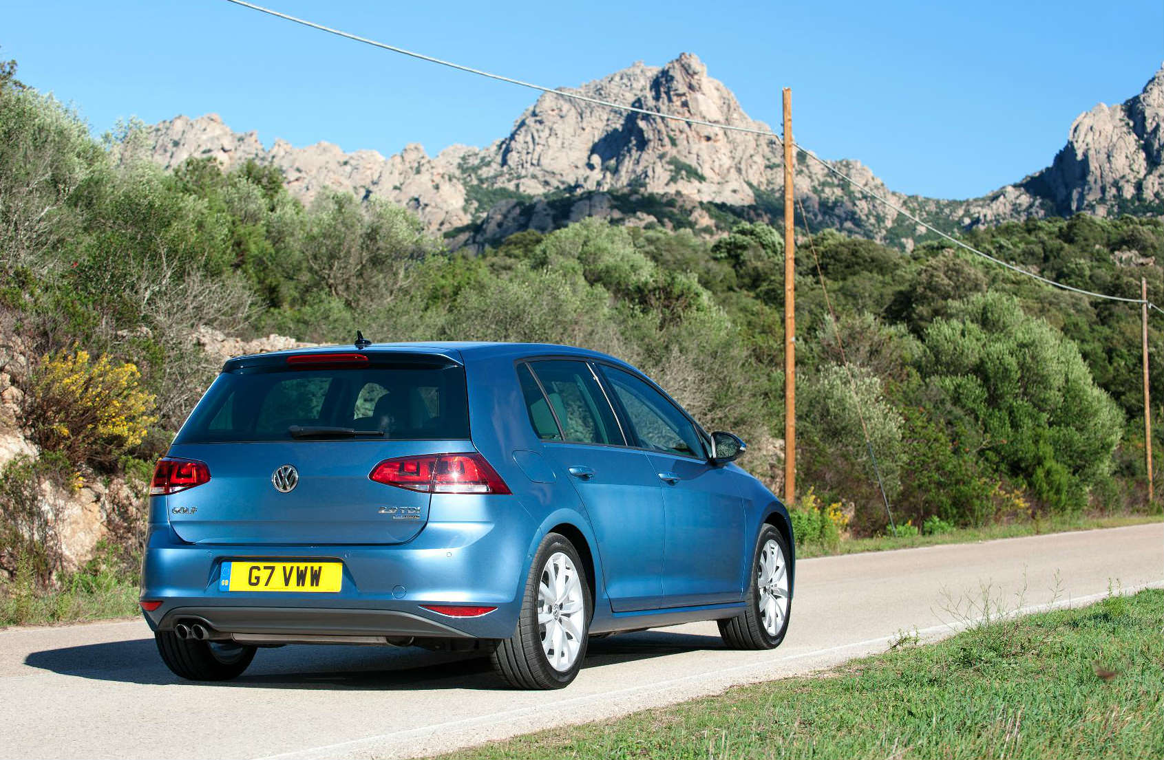 /The VW Golf mk7 makes for a good used family hatchback