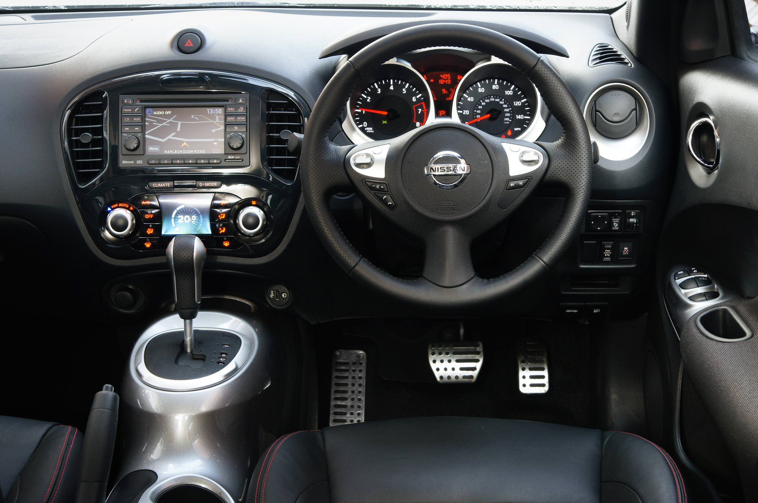 Nissan Juke used car buying guide_interior view
