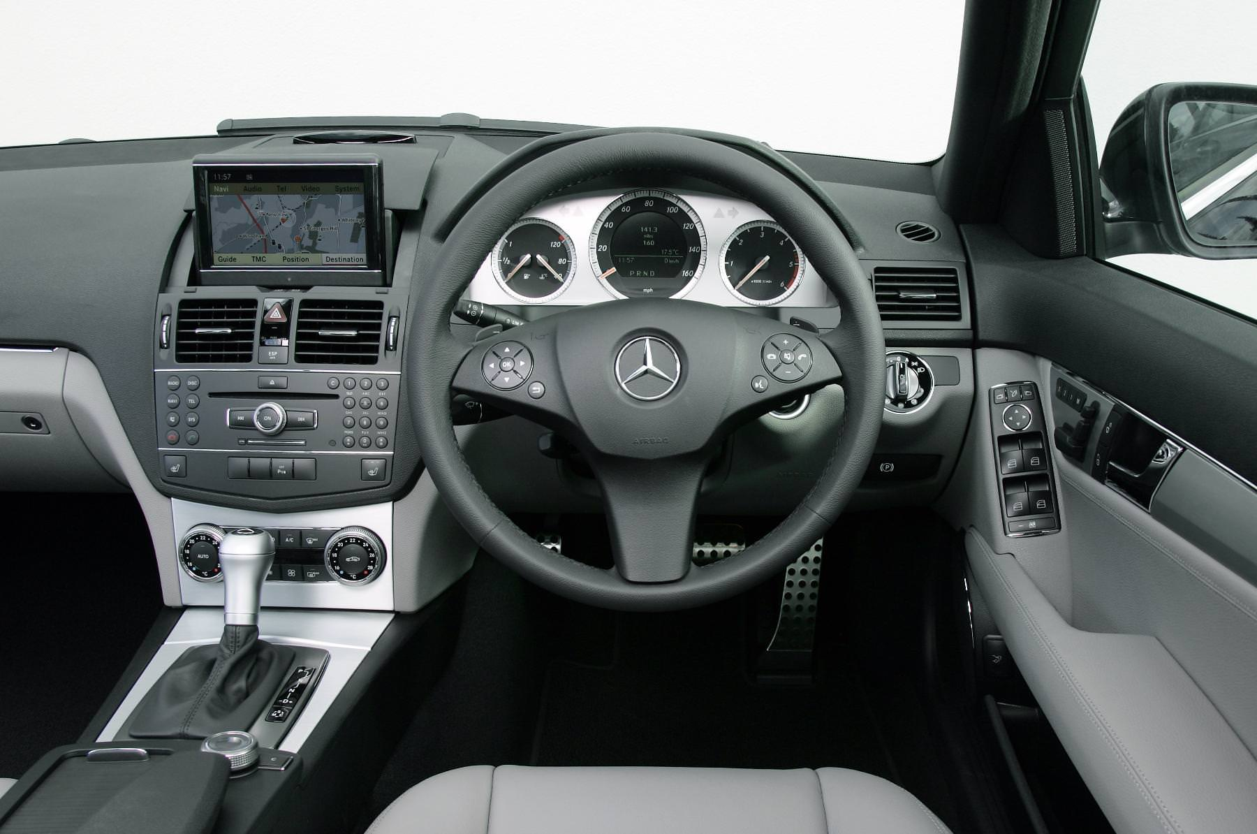 Mercedes C class interior design