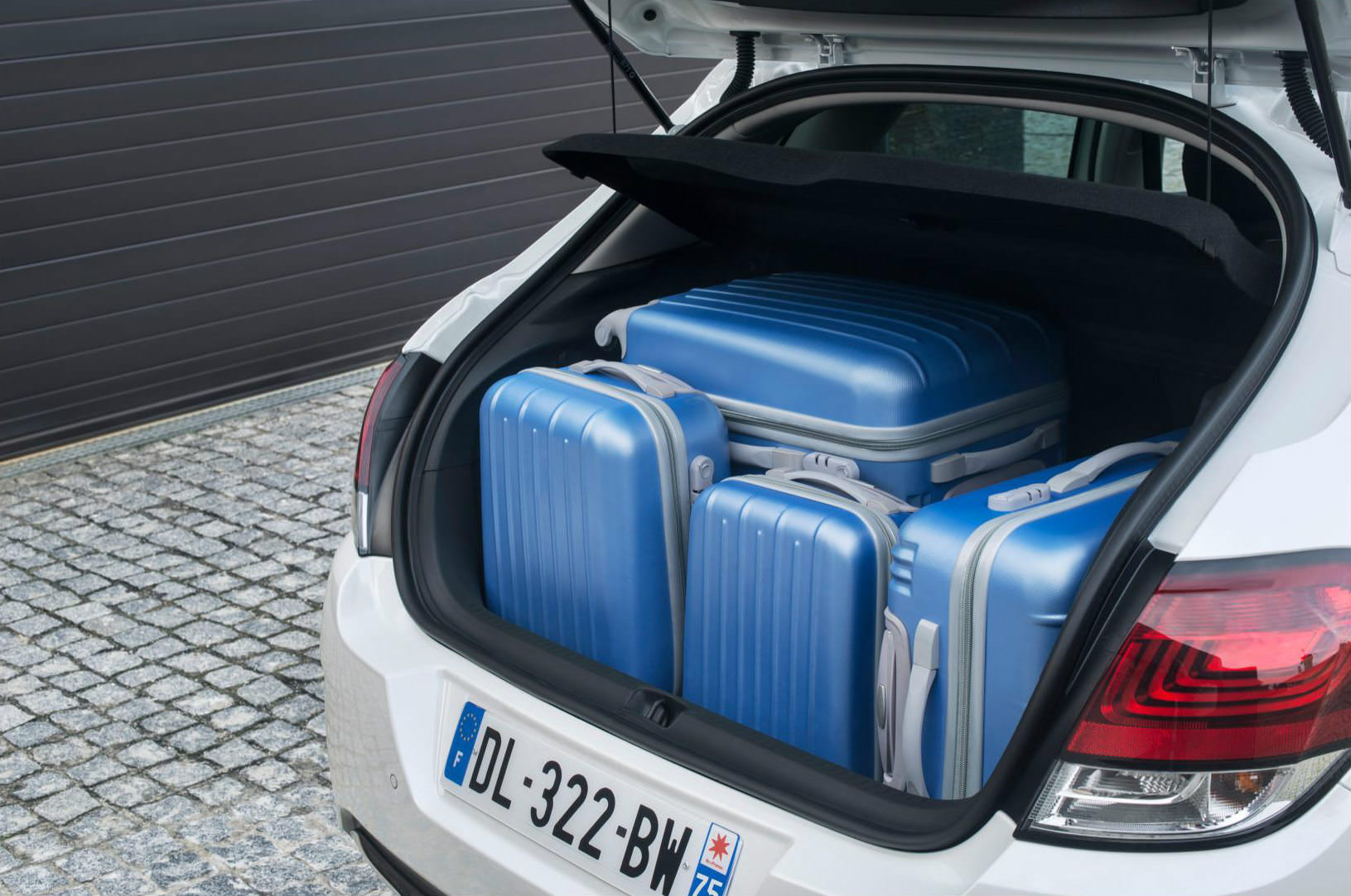 Citreon C4 Boot Space