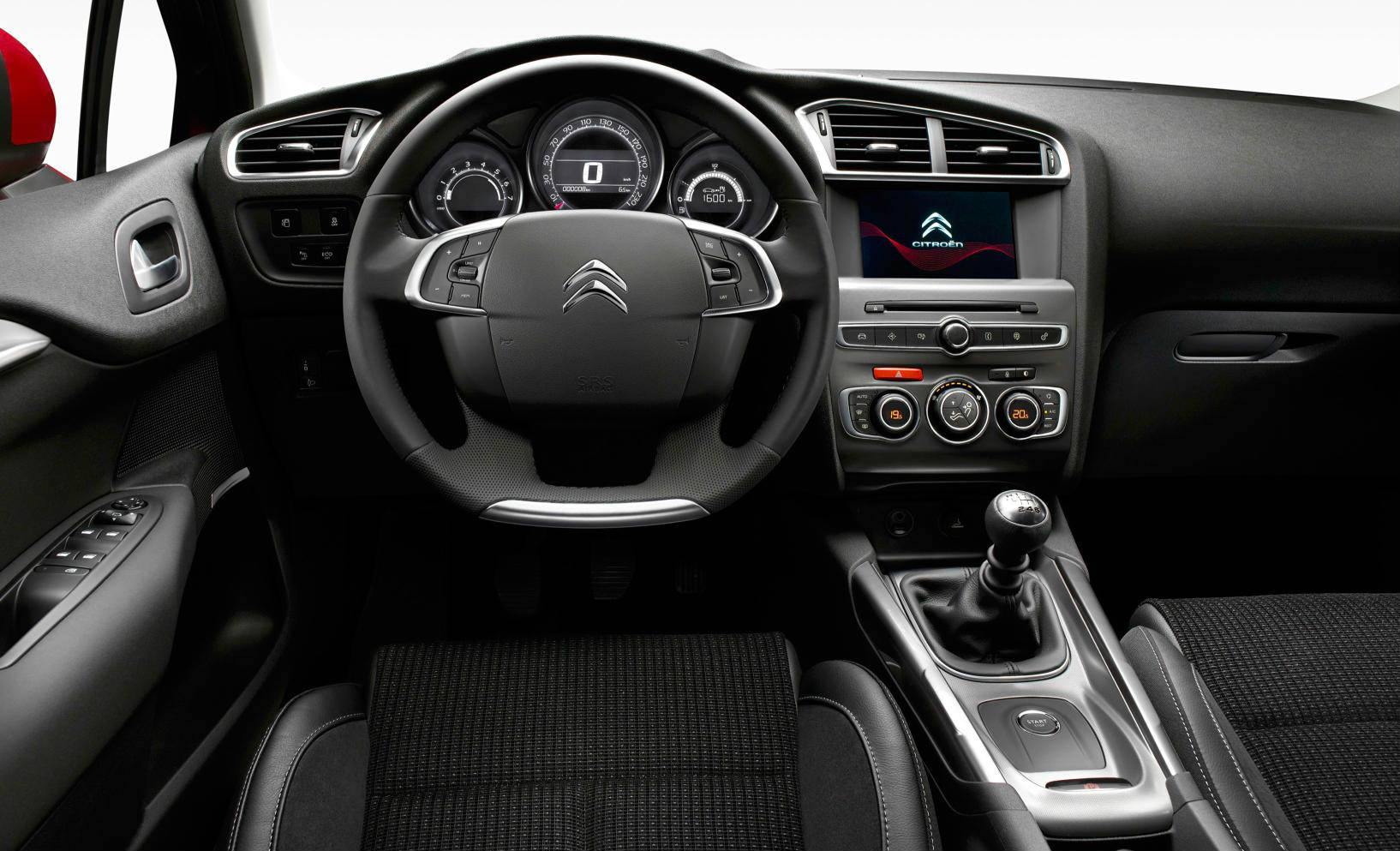 Citreon C4 interior design